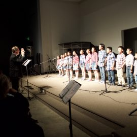 Debut of Little Masters Choir