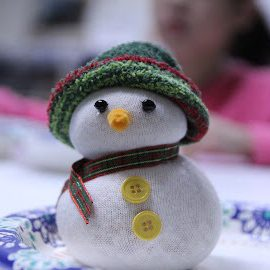 2017 Snowman Decoration –  Seattle