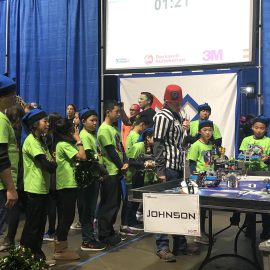 LMC FLL Team Robosaurus Participated in the State Championship