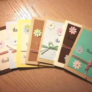 Hand-made Thank-You Cards