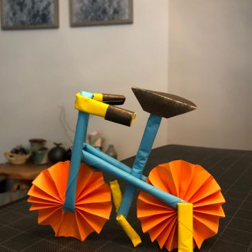 Paper Bicycle Craft Reflection (Author: Madeleine Ni)